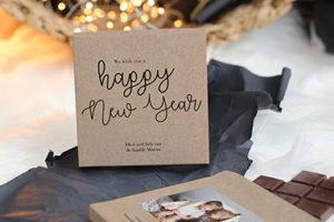 cottonbird chocola kerst nieuwjaar cadeau